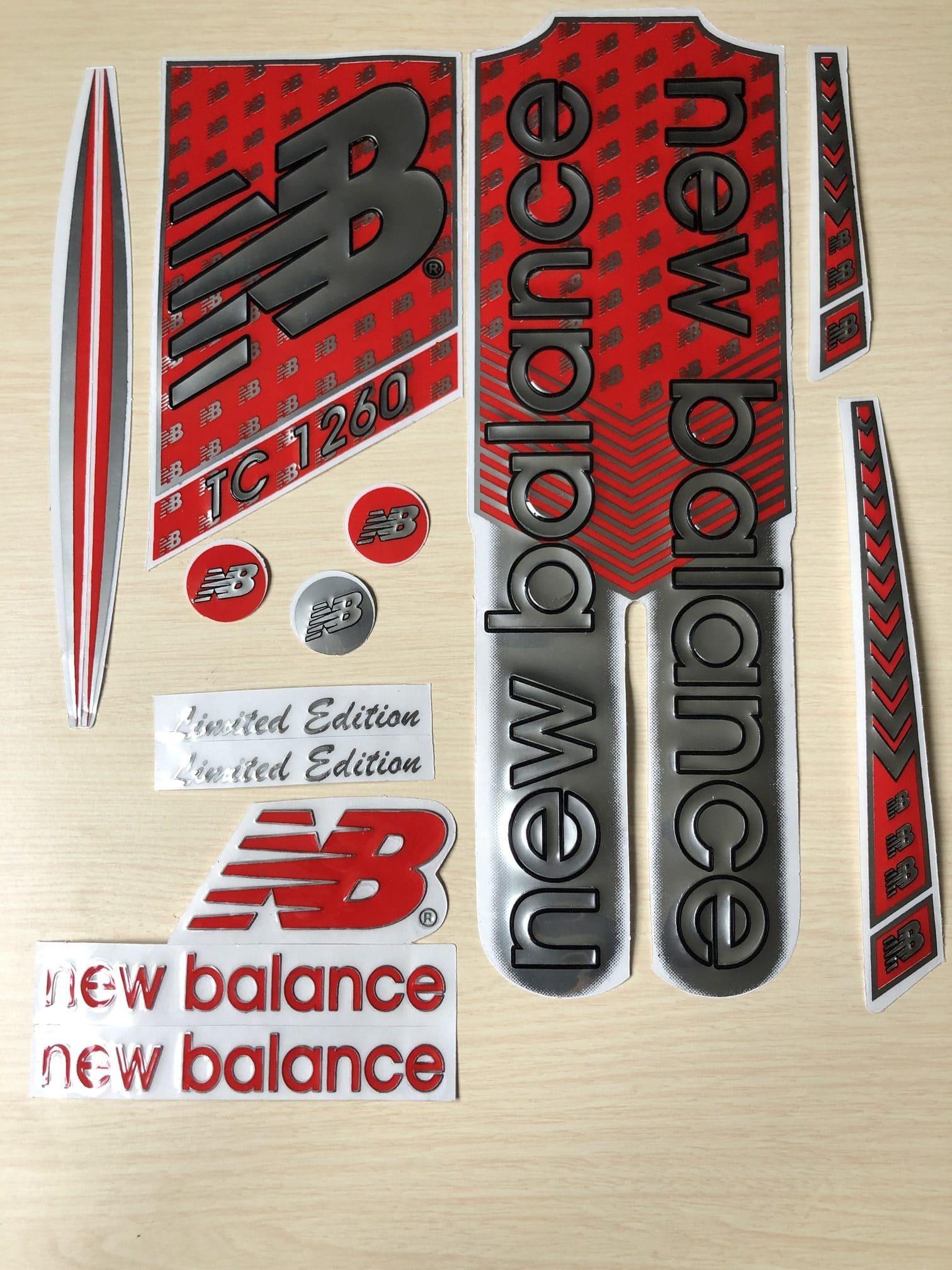 Sprung Ohnmacht verpflichten new balance bat stickers Hubert ...